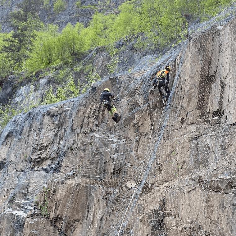 Slope Mesh for rockfall